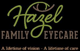 Hazel Family Eyecare Logo